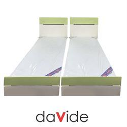 מיטה יהודית עם הפרדה יהודית שני ראשים  דגם קרן אור