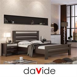 מיטה זוגית מעוצבת דגם YAHALOM