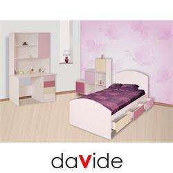 מיטת ילדים מעץ דגם כרמל