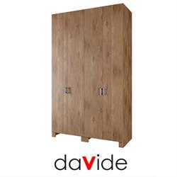 ארון בגדים 4 דלתות על רגליים דגם הום