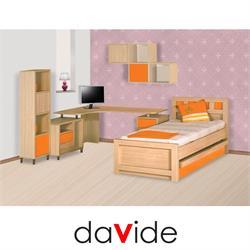 מיטת ילדים מעץ דגם הדר