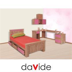 מיטת ילדים מעץ דגם מיכל