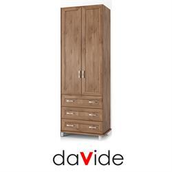ארון בגדים 2 דלתות ו 3 מגירות דגם YARDEN