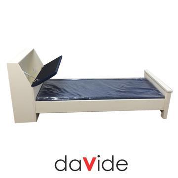 מיטת ילדים עם ארגז אחסון בראש המיטה דגם עדן