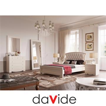 חדר שינה קומפלט עם ראש בסגנון לואי ה 14 דגם שוויץ