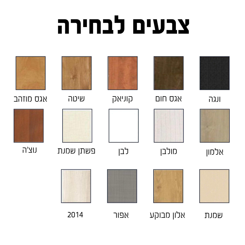 ספריית קודש  4 דלתות דגם ירושלים במה