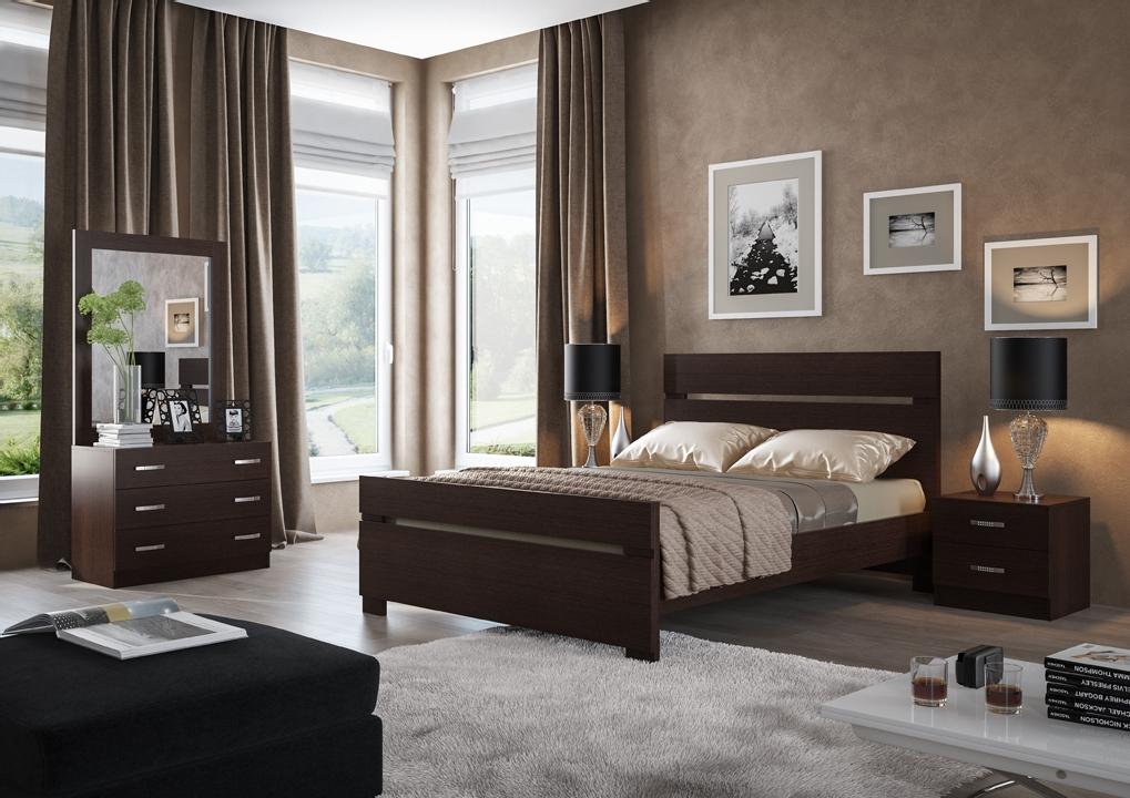 חדר שינה קומפלט דגם קרן